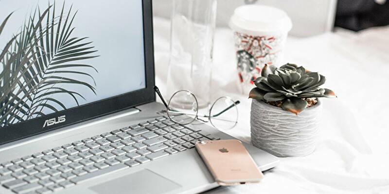 パソコンでブログを見る